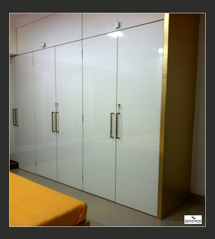 DesignBeing project—Residential, Mumbai:  Dressing room by Design Being ,Modern