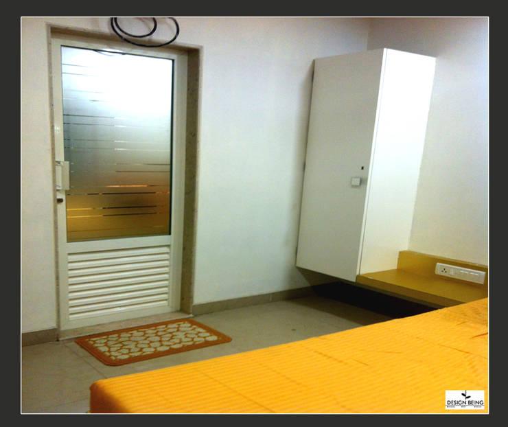 DesignBeing project—Residential, Mumbai:  Corridor & hallway by Design Being ,Modern