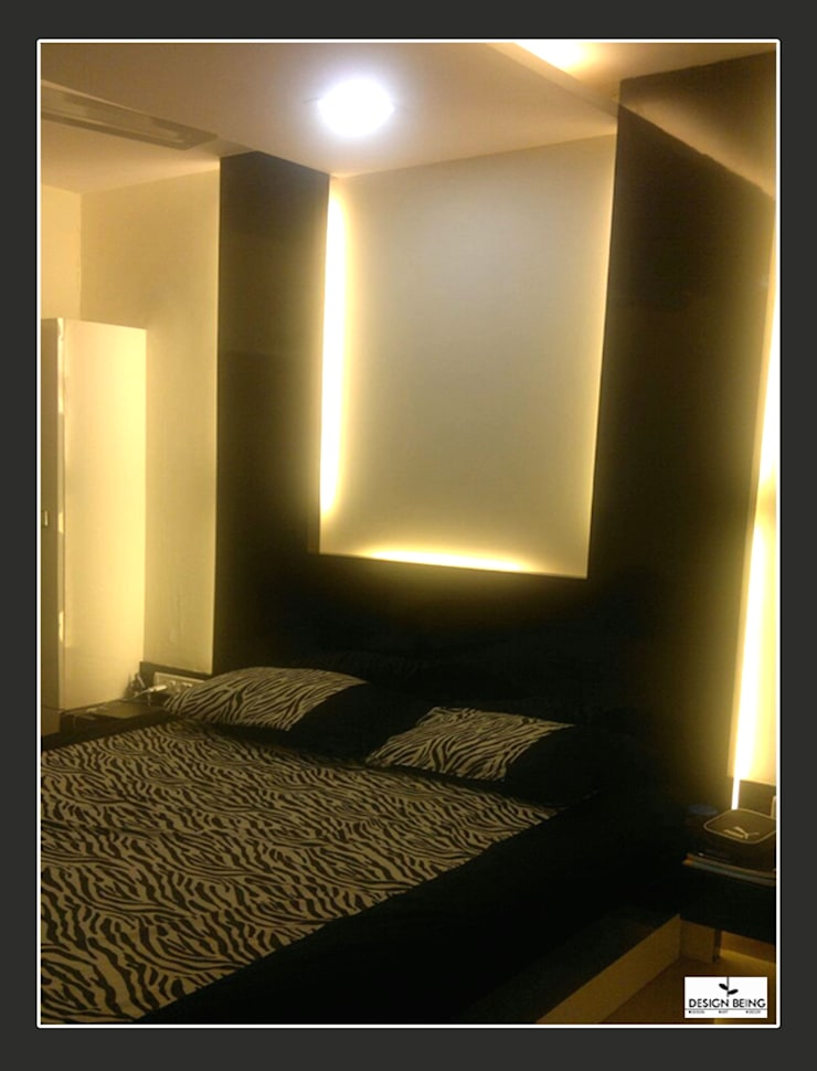 DesignBeing project—Residential, Mumbai:  Bedroom by Design Being ,Modern