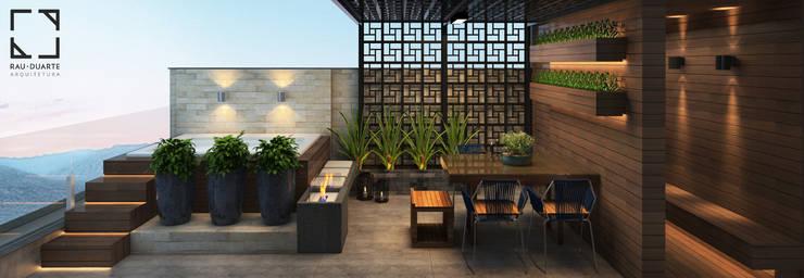 Terraço : Terraços  por Rau Duarte Arquitetura