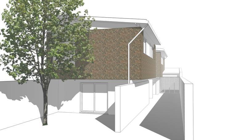 Proyectos de Arquitectura: Casas multifamiliares de estilo  por mm ARQUITECTOS,