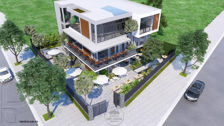 Mẫu Thiết kế biệt thự kết hợp kinh doanh:   by NEOHouse