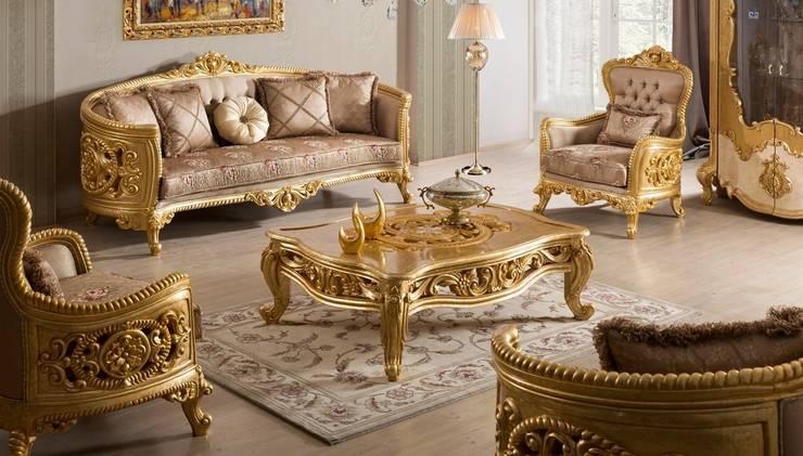 Living room تنفيذ LUXURY FURNITURE