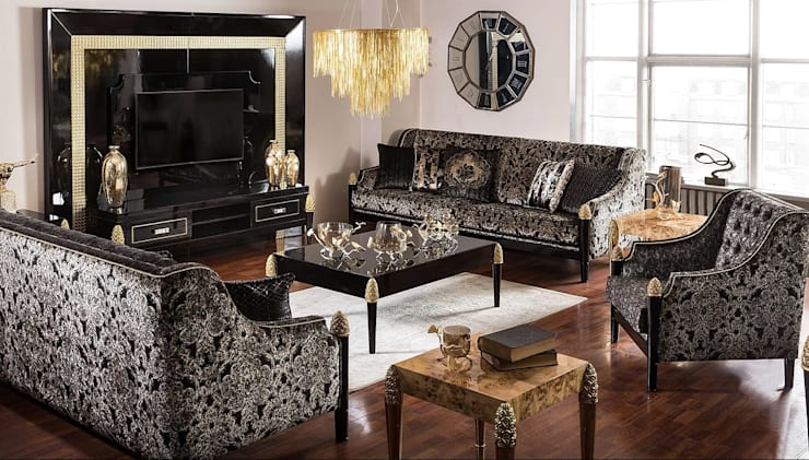 Living room by LUXURY FURNITURE