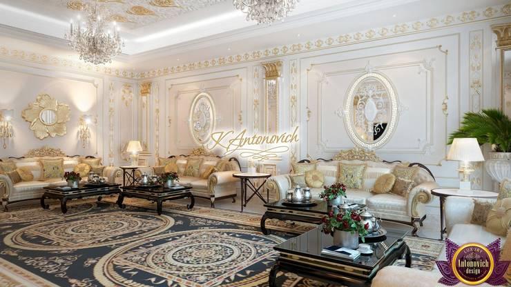 Living room design, the ideas of Katrina Antonovich:  Living room by Luxury Antonovich Design