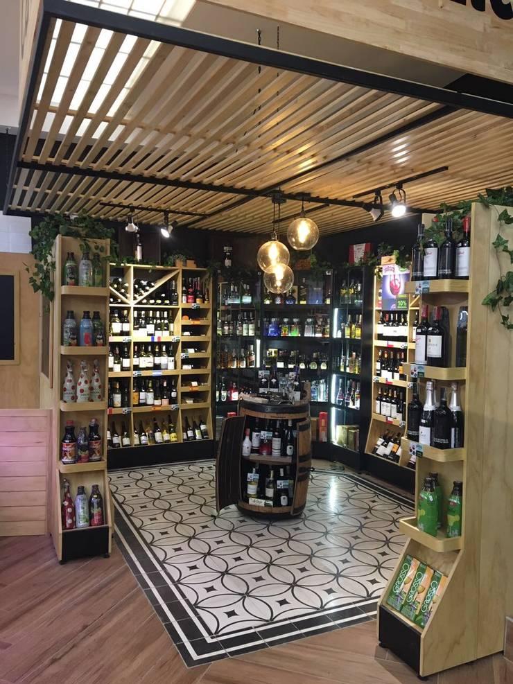 vinos: Locales gastronómicos de estilo  por Ecologik