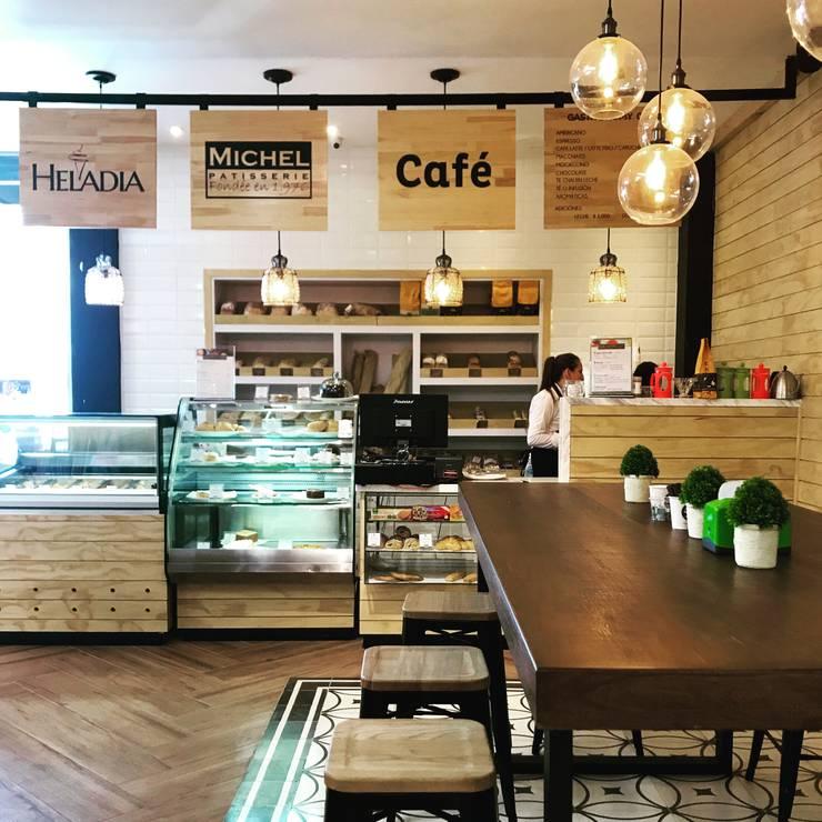 Cafe: Locales gastronómicos de estilo  por Ecologik
