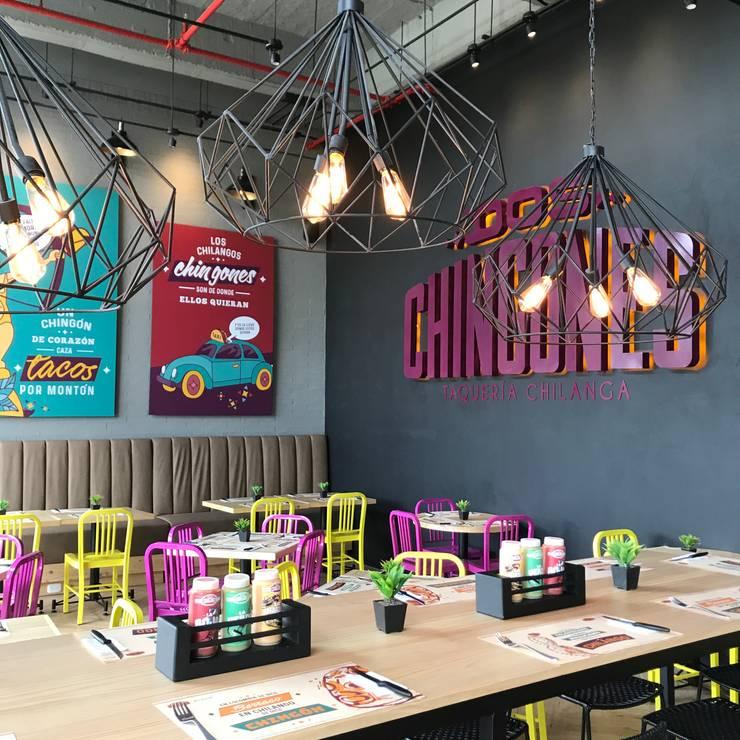 Mesa comunal: Locales gastronómicos de estilo  por Ecologik