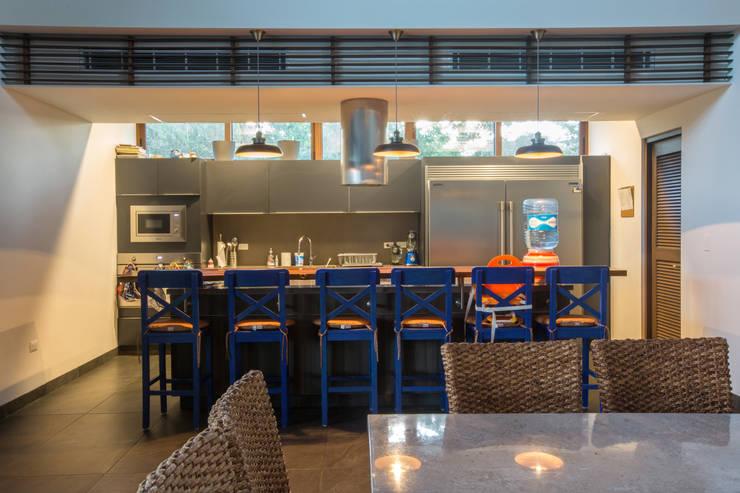 Casa DD: Cocinas de estilo topical por Ancona + Ancona Arquitectos