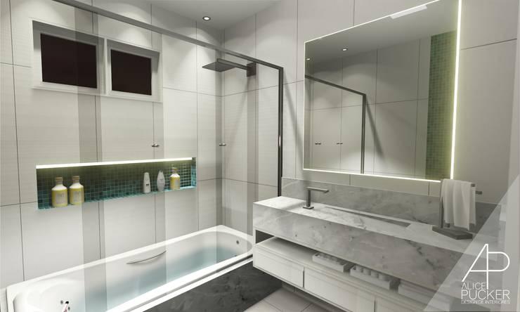 Phòng tắm theo Alice Pucker Design de Interiores, Hiện đại Đá hoa cương