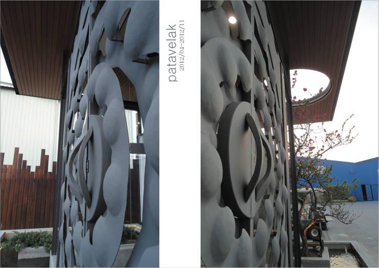 двери в . Автор – 石方室內裝修有限公司, Лофт