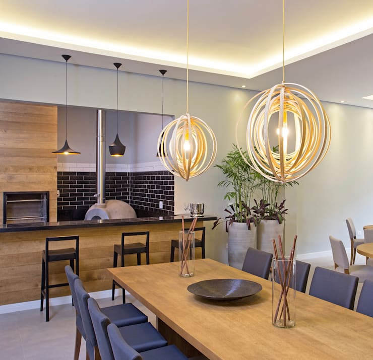 modern Dining room by GP STUDIO DESIGN DE INTERIORES