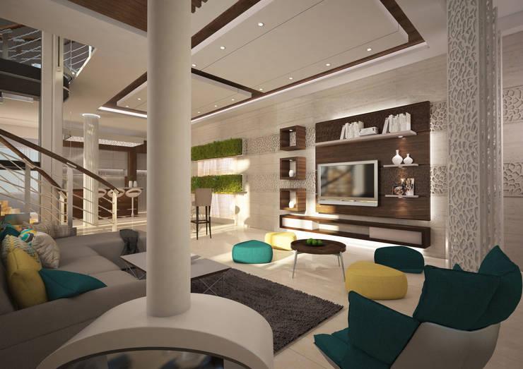 Phòng khách by dal design office