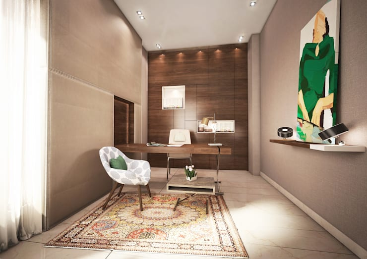Private Villa:  Study/office by dal design office