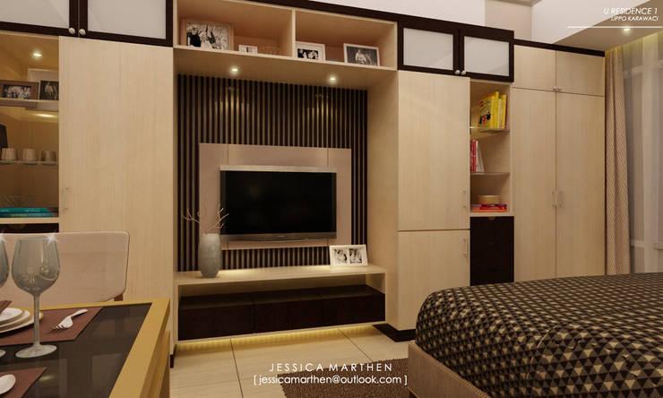 Bedroom by JESSICA DESIGN STUDIO