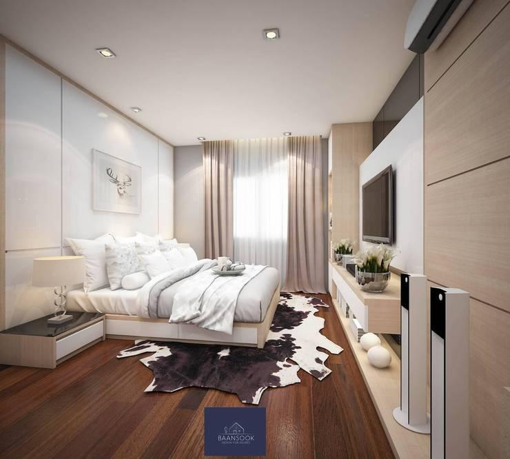 MUJI – โครงการลัดดารมย์ อิลิแกนซ์ วงแหวน-สาทร:   by BAANSOOK Design & Living Co., Ltd.
