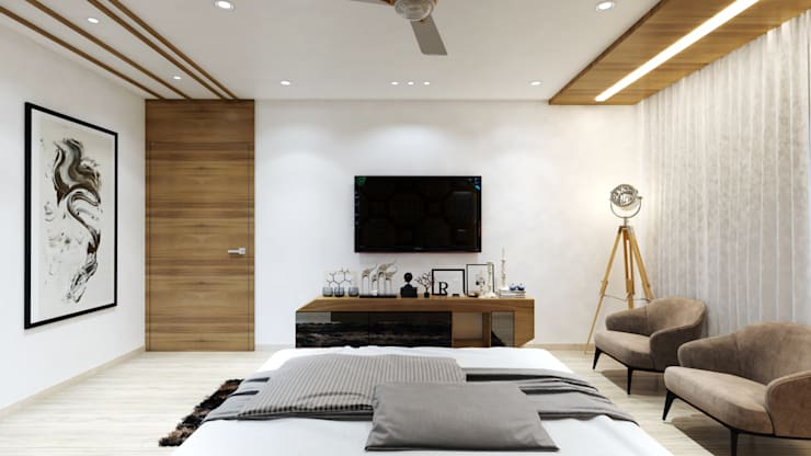 master room3:  Bedroom by quite design