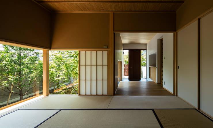 和室: 神家昭雄建築研究室が手掛けた和室です。,