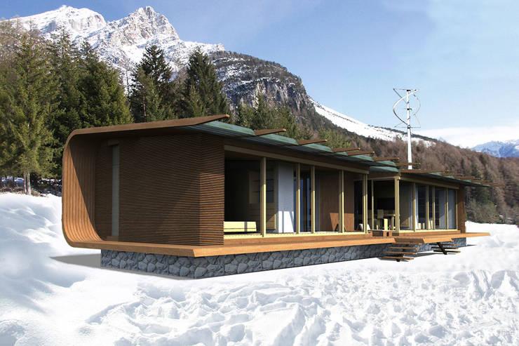 Progettazione casa passiva ecco la casa passiva per ridurre i costi energetici giornale di oggi - Casa passiva prefabbricata ...
