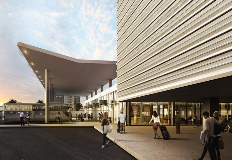 Rumah oleh ARCO Arquitectura Contemporánea , Modern Beton