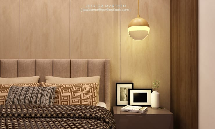 modern Bedroom by JESSICA DESIGN STUDIO