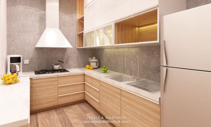 modern Kitchen by JESSICA DESIGN STUDIO