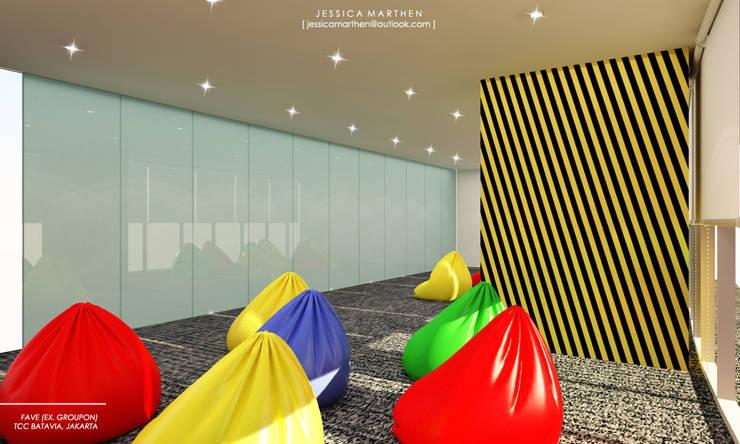 Study/office by JESSICA DESIGN STUDIO