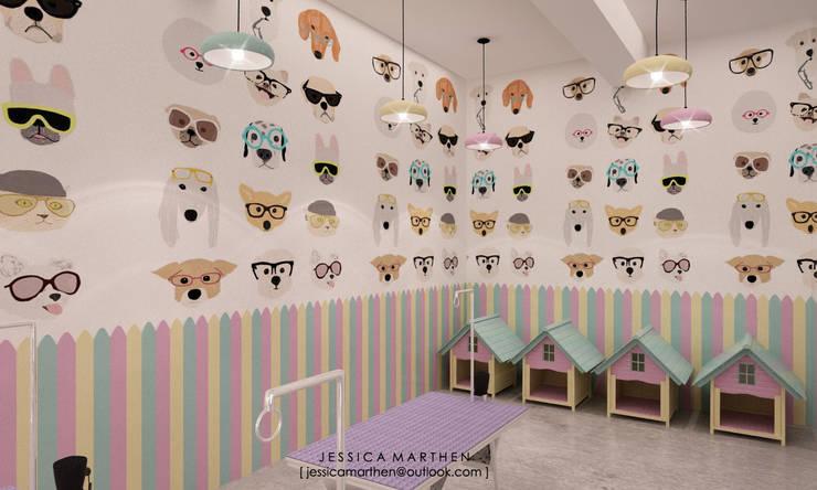 scandinavian Spa by JESSICA DESIGN STUDIO