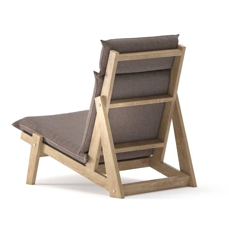3D Furniture Modeling & Rendering Services:  Balconies, verandas & terraces  by Hi-Tech CADD Services
