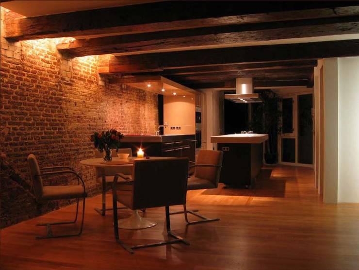 various interior projects:  Keuken door Lozinski Architecten