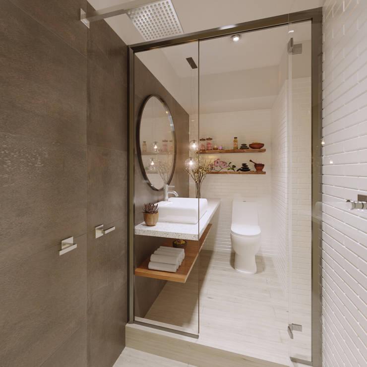 Baño Principal - Villarán  269:  de estilo  por FABRE STUDIO