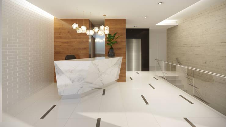 Lobby - Villarán 269:  de estilo  por FABRE STUDIO