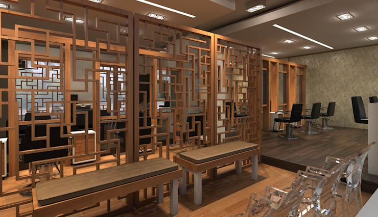 BIJIN: Espacios comerciales de estilo  por Indigo Arquitectos