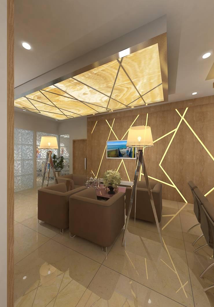 modern Living room by Gurooji Design