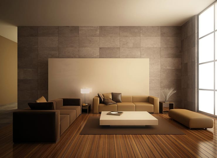 This Minimalistic Living room: minimalist  by Spacio Collections,Minimalist Textile Amber/Gold