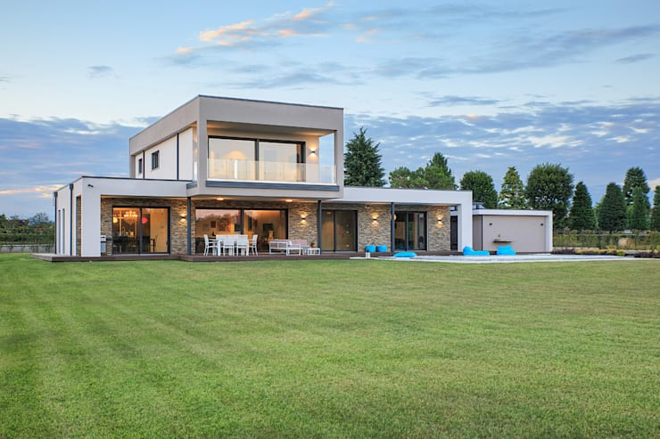 現代房屋設計點子、靈感 & 圖片 根據 Stefano Pedroni 現代風