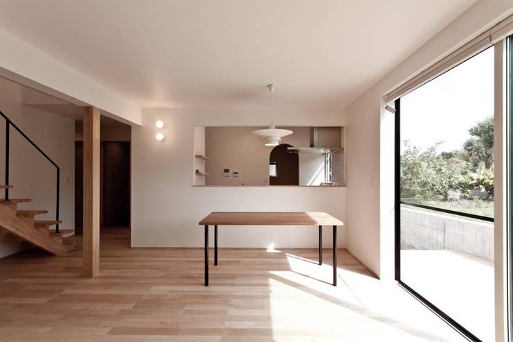 上原堤の家: 有限会社 法澤建築デザイン事務所が手掛けたです。