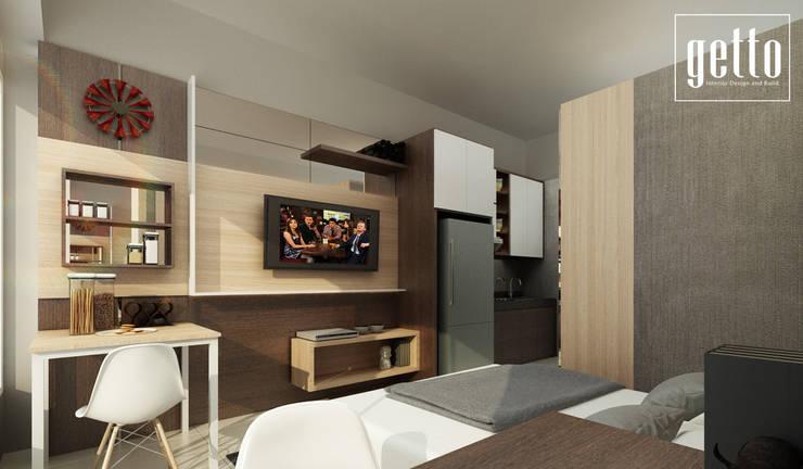 Alliz Apartment:  Kamar Tidur by Getto_id