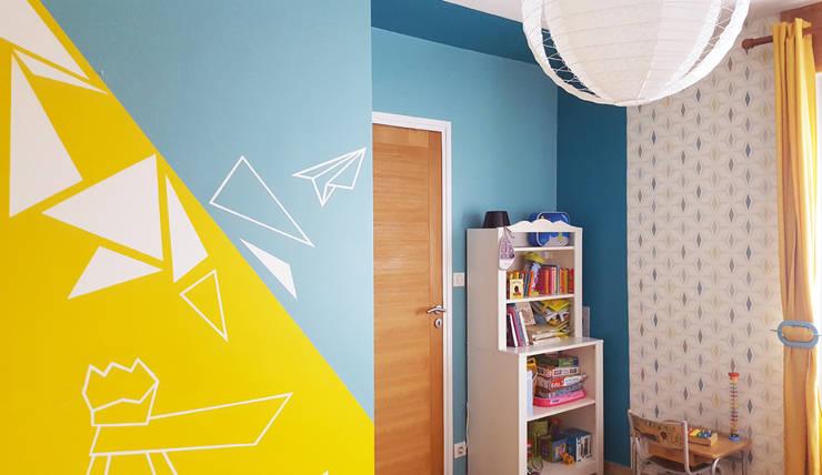 Peinture murale – Décoration chambre d\'enfant - Le Petit Prince en ...