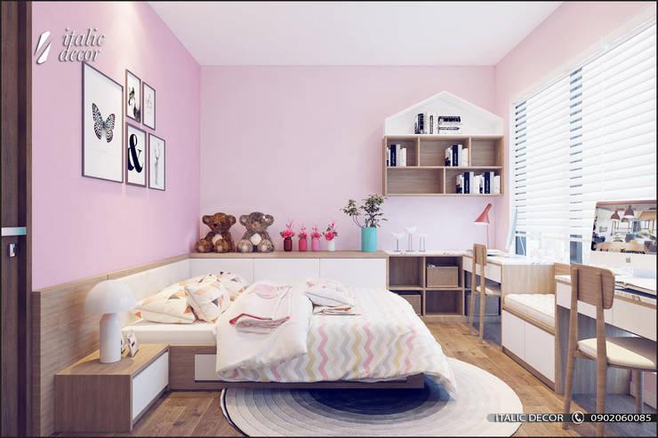 CĂN HỘ TRÀNG AN COMPLEX 02:  Phòng trẻ em by ITALIC DECOR