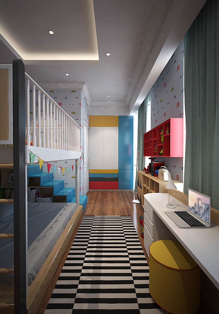 Kids Bedroom:  Kamar Bayi & Anak by EIGHT IDEA