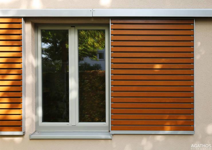 Sanierung und Erweiterung eines Einfamilienhauses in Aachen:  Garten von Architekturbüro Sutmann,Modern