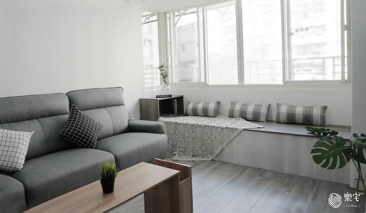 de estilo  por 樂宅設計|系統傢俱