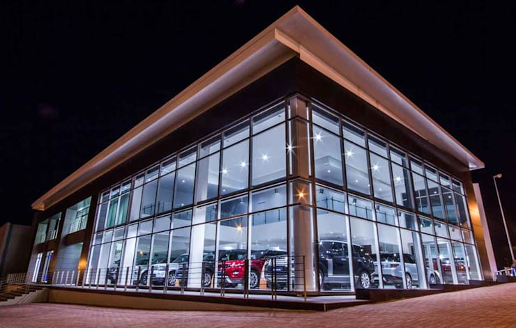 East Cape Motors:  Car Dealerships by Intsika Architects (Pty) Ltd