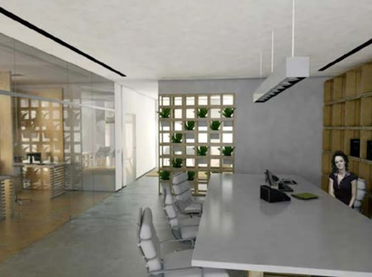 minimalistic Study/office by Grupo Norma