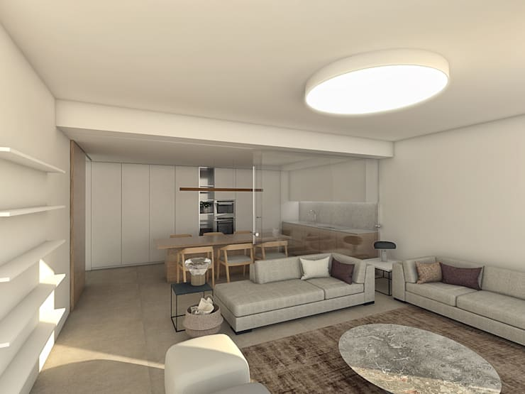 Living room by Grupo Norma