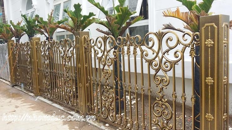 Cửa cổng hợp kim nhôm đúc:   by Công ty cổ phần nhôm đúc Fuco