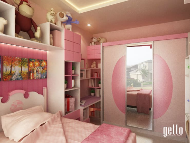 Cluster The Avanny BSD:  Kamar tidur anak perempuan by Getto_id