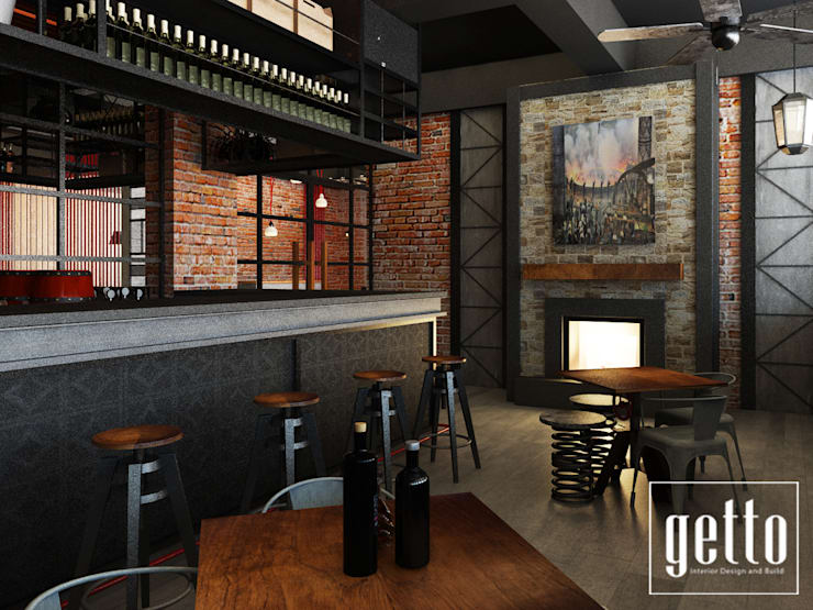 Clique Industrial Bar Concept:   by Getto_id