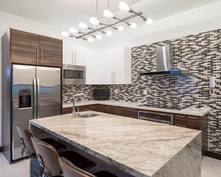 廚房 by J-M arquitectura